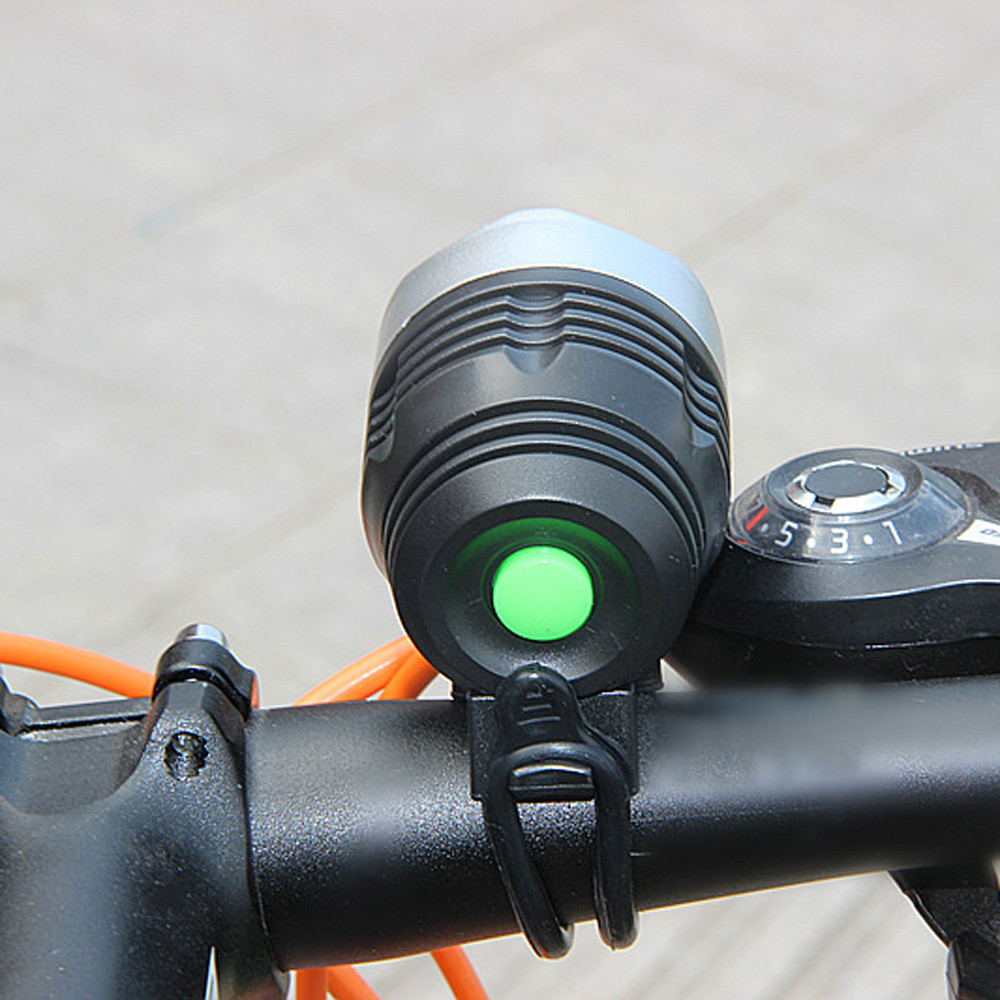 3000 Lumen XML Q5 Interface Rear Light Adjustable Bicycle Light  Rechargeable Battery Zoom Front Bike Headlight Lamp
