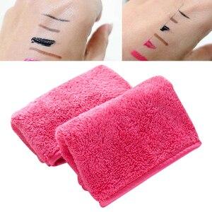 Image 2 - Reusable Microfiber Face Towel Face Towel Natural Antibacterial Protection Makeup Remover Cleansing Face Wash Microfiber Towel