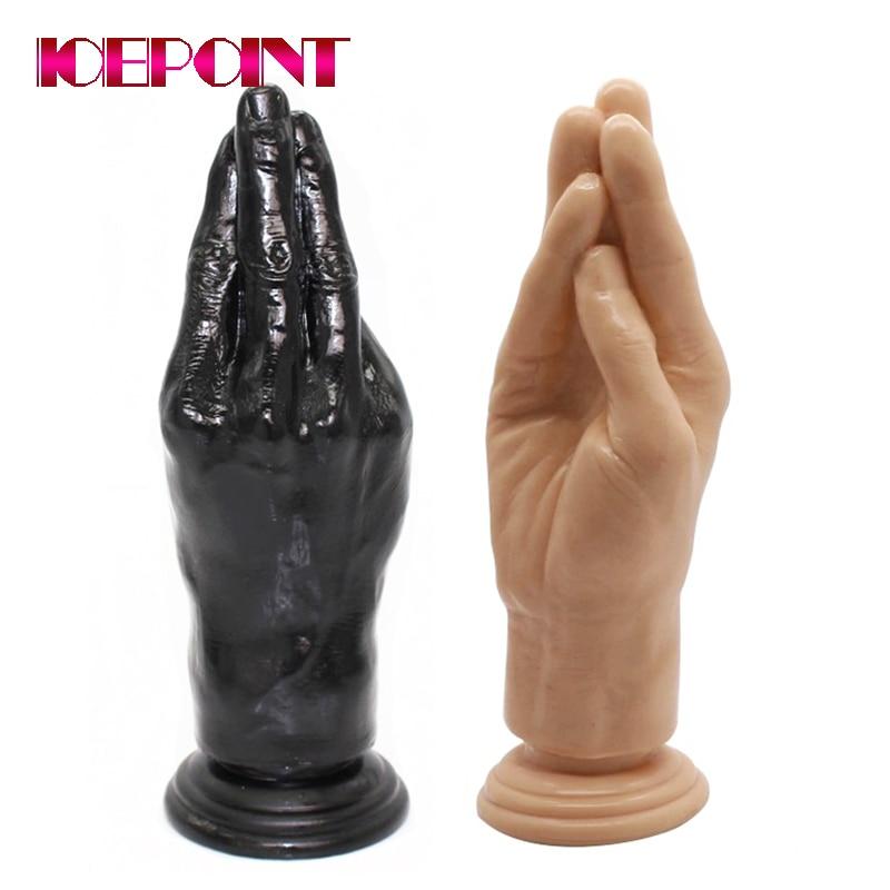 Huge Arm Fist Dildos Female Masturbation G-spot Massager Big Hand Palm Dildo Large Anal Plug Adult Products Sex Toys for Women