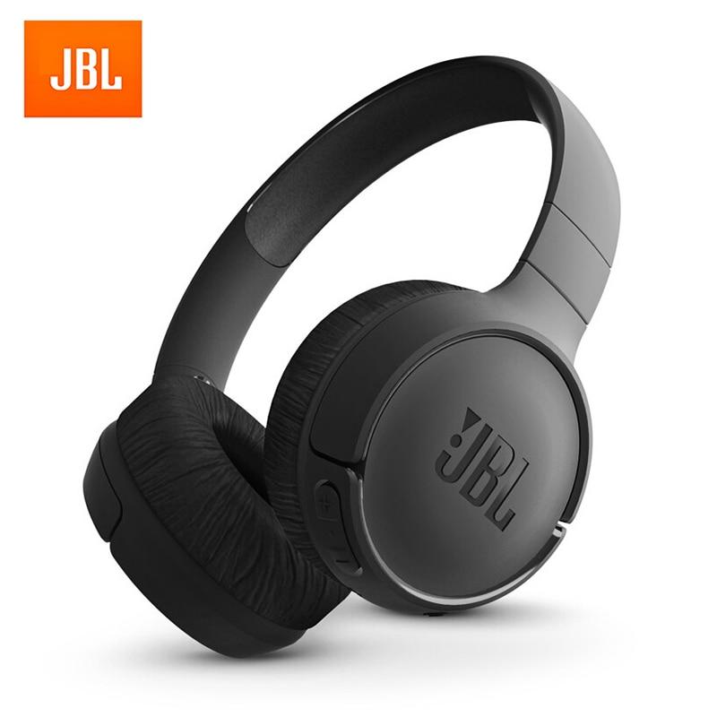 JBL E500BT Wireless Bluetooth Headphone Deep Bass Sound Sports Game Headset with Mic Noise Canceling Foldable Earphones