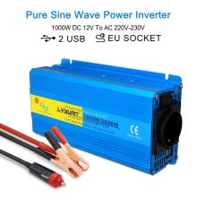 Charging-Adapter Sine-Wave-Inverter Voltage-Transfer AC 230V 2000W 220V Eu-Socket Universal