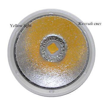 Yellow light XHP70.2 LED dive light 4000 lumen diving flashlight 26650 torch underwater tactical hunting flashlight