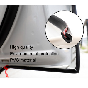 Image 3 - 5M Car Styling Strips Rubber Edge Doors Mouldings Universal Car Door Edge Rubber Scratch Protector Sticker For Car Auto Seal