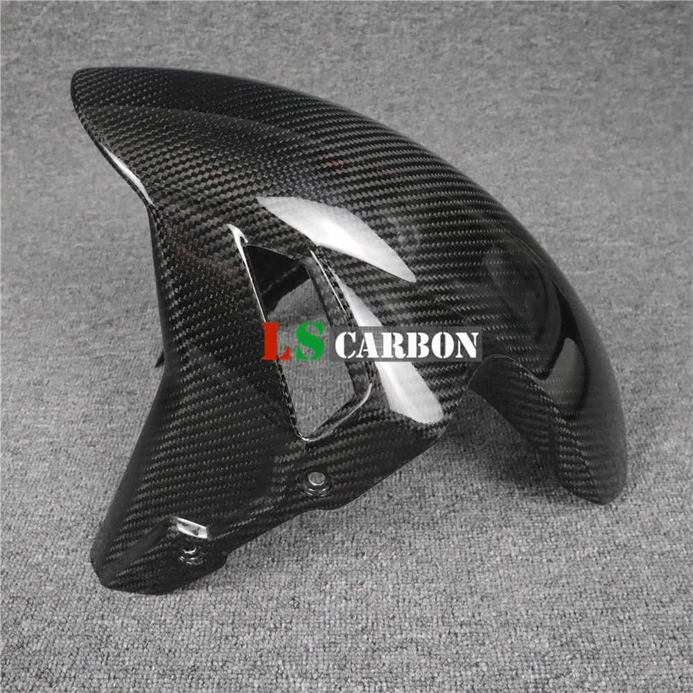 Für BMW S1000RR eine neue passende Carbon Kotflügel vorne Front Fender