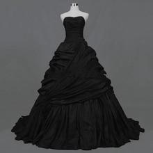 vestido novia negro RETRO VINTAGE