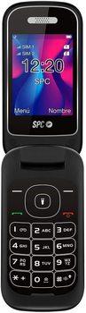 SPC VELVET black-screen 2.4 '/6.09CM 320*240 - DUAL SIM - BT - RADIO FM-camera-flashlight-AGENDA 500 CONTA