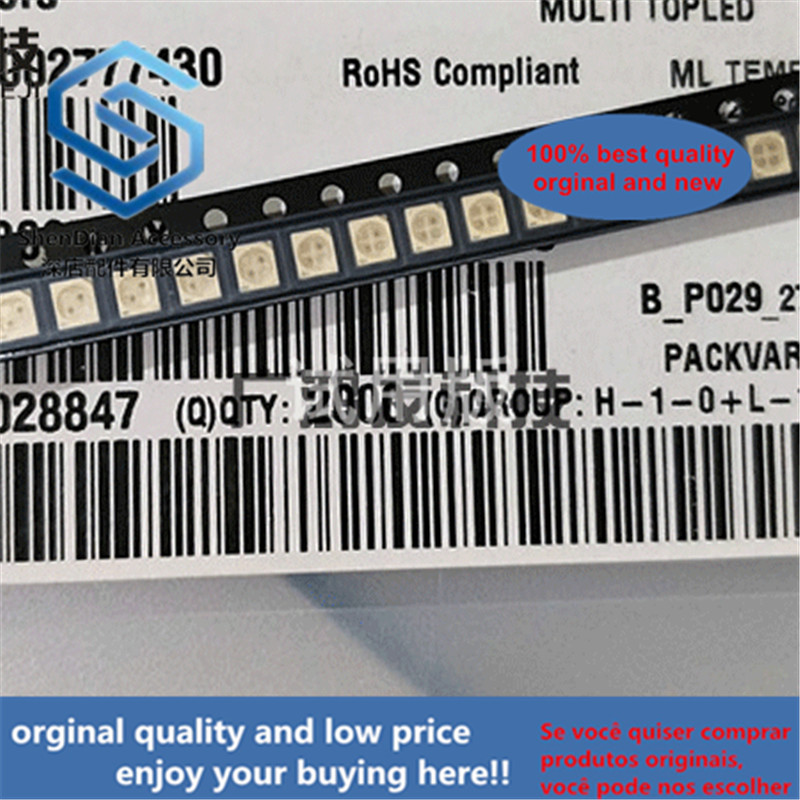 10pcs 100% Orginal New LSGT670 Red And Green Dual-color LED Patch Four-pin Four-pin PLCC-4 3528/1210