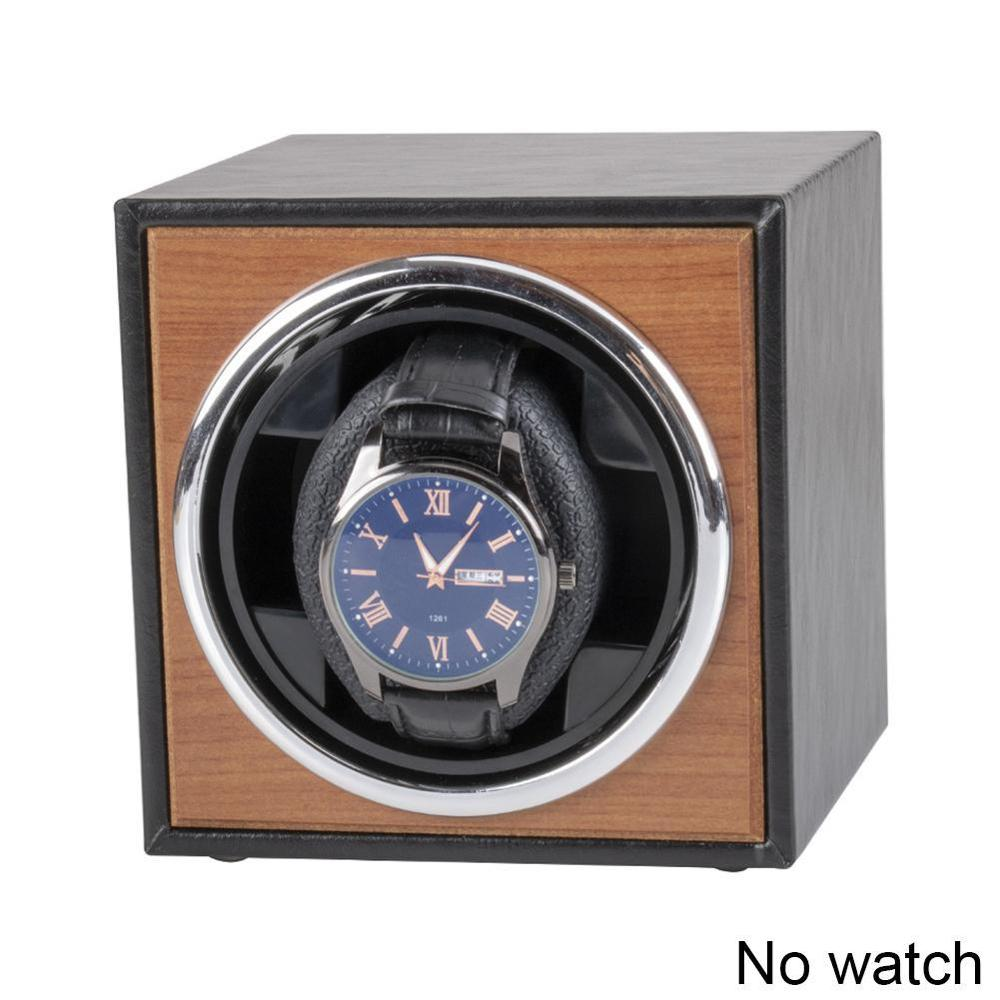 Watch Winder For Automatic Watches New Version 4+6 Wooden Watch Accessories Box Watches Storage Collector 3 Rotation Mode Single