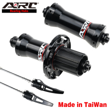 arc road bike carbon fiber hub 6 claws 72 ring sound quick release straight pull 20 24 hole ultra light v brake 8 9 10 11 speed ARC Aluminum alloy Hub Road Bicycle Hub V Brake Straight Pull Road Bike Hub Shimano 8 9 10 11 Speed 6 Claws 72 Clicks Road Hub