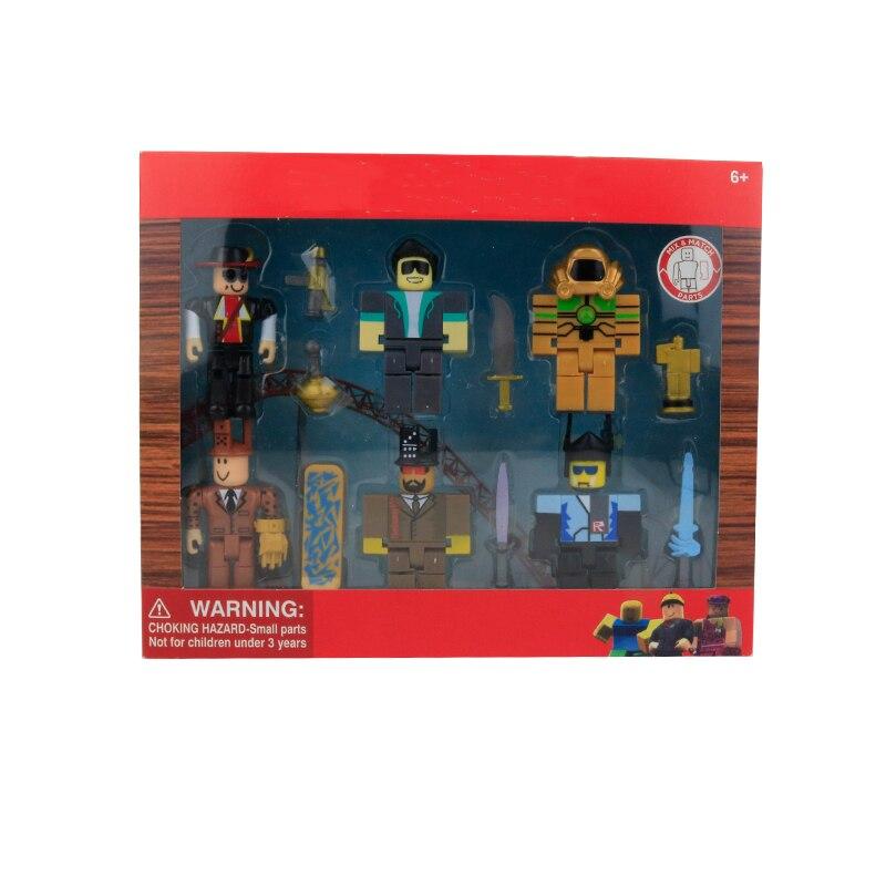Фигурки из «Легенды роблосинга», упаковка из шести фигурок, 7 см, модели, куклы для мальчиков, детские игрушки, фигурки джугетов, коллекционн...