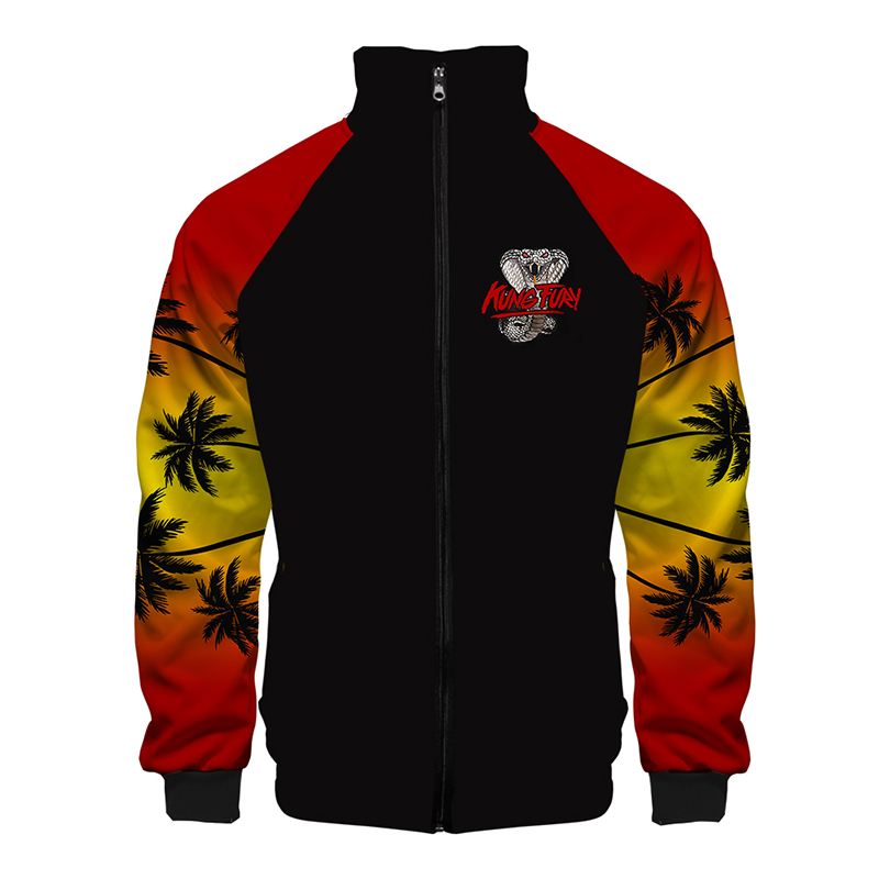 Snake Kai Print New Fashion 3d Stand Collar Hoodie Men Women Zipper Hoodies Jackets Long Sleeve Sport Unisex 3D Sweatshirts Tops