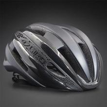 Las mujeres de los hombres Aero casco de bicicleta de carretera bicicleta ciclismo deportes casco de seguridad en Mens carreras en el molde-juicio MTB casco