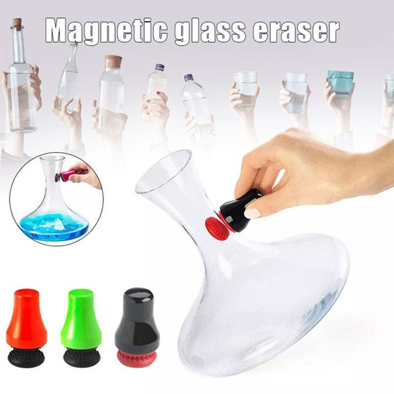 Magnetic Precision Scrubber - Magnetic Brush Cleaner