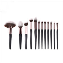 Новинка набор кистей для макияжа 12 шт основы румян пудры теней