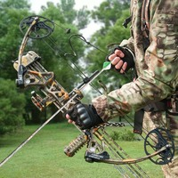 Topint Complete Compound Bow & Arrow Accessory Kit 19 70 lbs with Max Speed 320 fps Right Handed USA free shipping