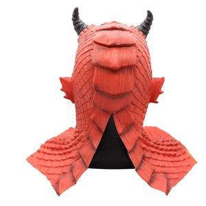 Image 3 - Demon Horror Lord Diablo Belial Mask Cosplay Boss Belial Latex Masks Gloves Halloween Carnival Party Costume Props