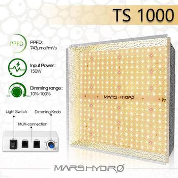 Mars Hydro TS 1000W Combo with LED Grow Light Full Spectrum Best for Hydro Plant Veg Flower