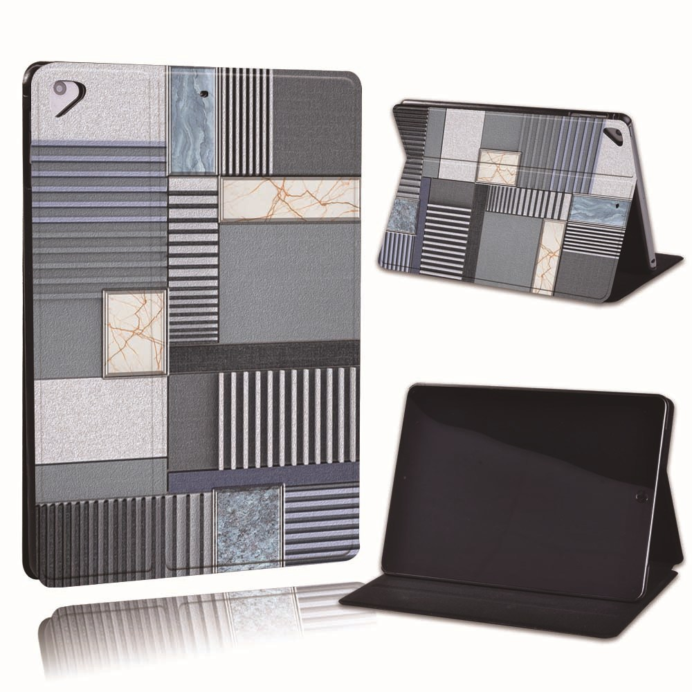 10.blue grey pattern Pink For Apple iPad 8 10 2 2020 8th 8 Generation A2428 A2429 PU Leather Tablet Stand
