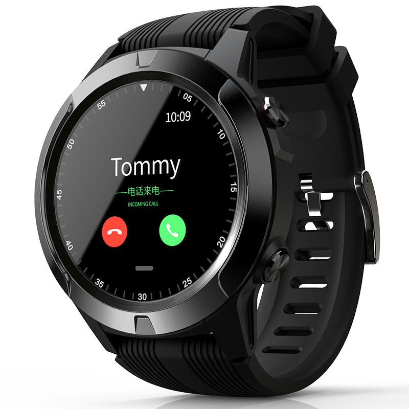 Bakeey TK04 GSM bluetooth Call Built-in GPS <font><b>Smart</b></font> <font><b>Watch</b></font> Phone Air Pressure Heart Rate Blood Pressure Weather Monitor Smartwatch image