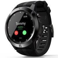 Teléfono Inteligente Bakeey TK04 GSM llamada bluetooth incorporado GPS Smart Watch presión del aire Frecuencia Cardíaca presión arterial Monitor del tiempo Smartwatch