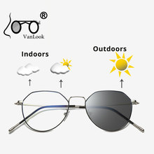 Синий светильник, блокирующие компьютерные очки, фотохромные солнцезащитные очки для мужчин и женщин, хамелеоновые линзы, прозрачные, анти-голубые лучи, UV400, оправа для очков