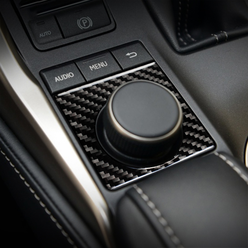 Car <font><b>accessories</b></font> Knob panel decorate carbon fiber interior trim car for <font><b>Lexus</b></font> NX300h NX200 <font><b>NX200t</b></font> <font><b>2015</b></font>-2016 image