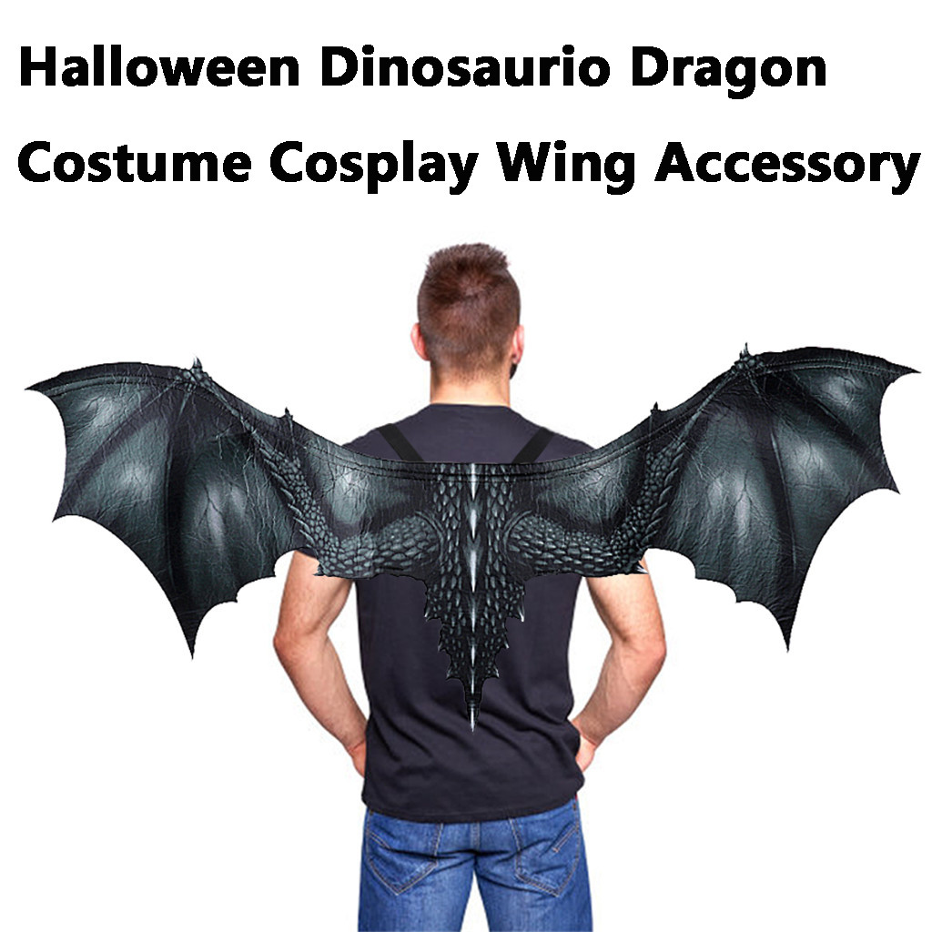 Adulte Halloween 3D Animal Dragon Masque Cosplay Party Fantaisie Costume Robe Accessoires