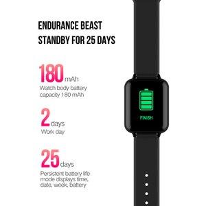 Image 2 - COXANG b57 חכם שעון עם לחץ מדידת קצב לב צג b57 Smartwatch עמיד למים מד צעדים חכם שעון ladie/גברים