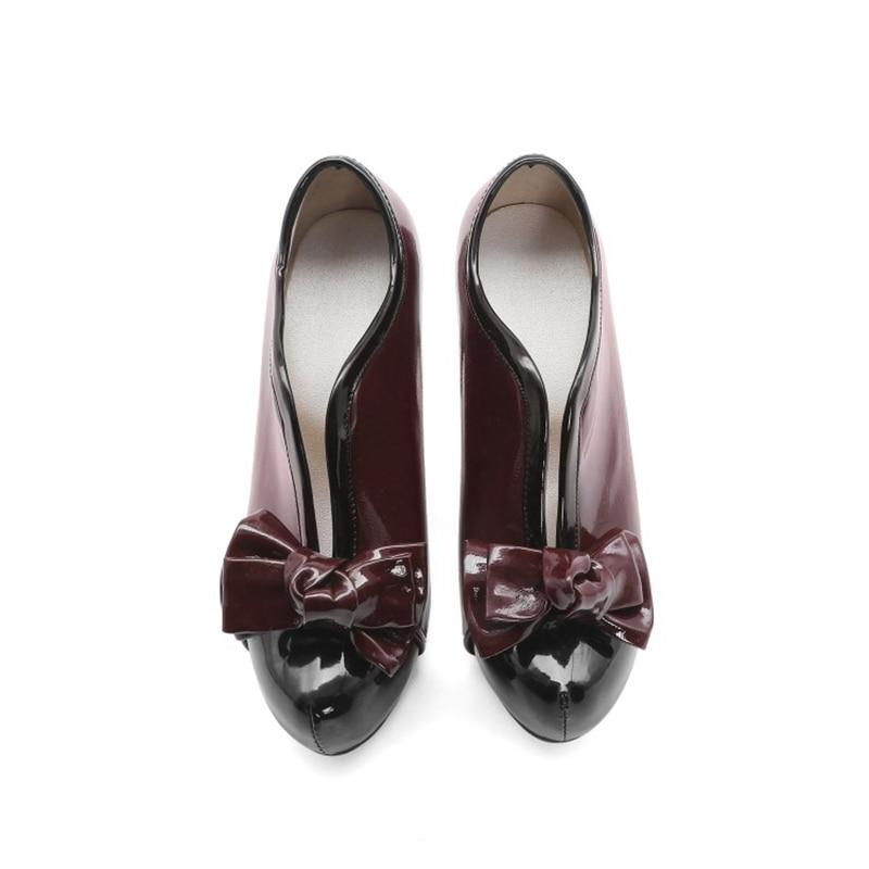Купить новая модная весенне осенняя женская обувь с бантом женские