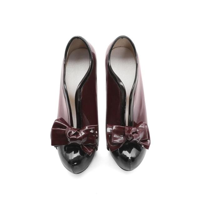 Фото новая модная весенне осенняя женская обувь с бантом женские цена