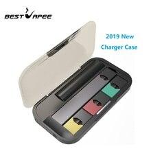 Последняя электронная сигарета зарядное устройство для JUUL Vape Kit 1200 мАч переносной заряжающий Чехол Держатель портативное USB зарядное устройство s мини Чехол для JUUL