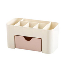 Plastic Desktop Cosmetic Box with Small Drawer Receiving Household Multifunctional Jewelry Storage
