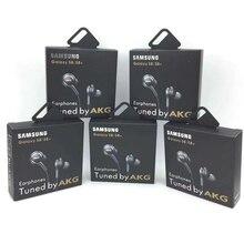 Auriculares con micrófono para teléfonos inteligentes Samsung EO IG955, 3,5mm, intrauditivos, estéreo, con cable, con embalaje, 20 Uds.