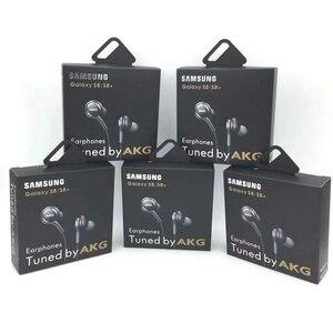 Image 1 - Auriculares con micrófono para teléfonos inteligentes Samsung EO IG955, 3,5mm, intrauditivos, estéreo, con cable, con embalaje, 20 Uds.