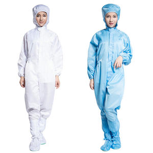 Work-Clothes Safety-Clothing Dust-Proof-Suits Protective-Overalls Antistatic Full-Bodysuit