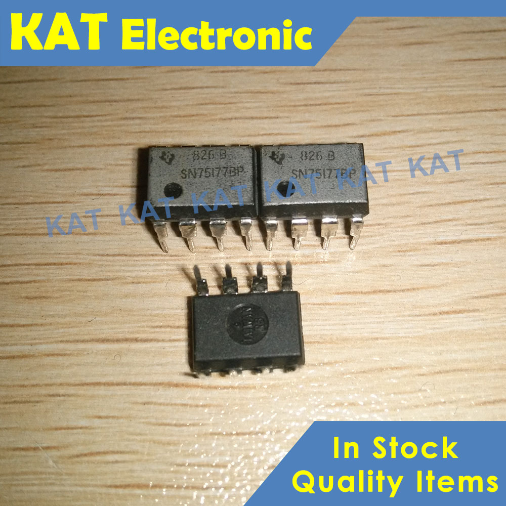5PCS/Lot SN75177BP DIP-8 DIFFERENTIAL BUS REPEATERS