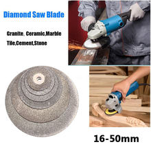 Silver Diamond Saw Blade Sands Sliced Emery Electric Drill Crane Mill Cutting Disc Electrical Accessories Jade Revolving Tool(China)