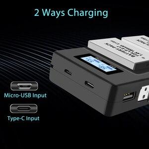 Image 4 - PALO 2Pc LPE17 LP E17 LP E17 Batterie + LCD USB Double Chargeur pour appareil photo Canon EOS 200D M3 M6 750D 760D T6i T6s 800D 8000D Baiser X8i Caméras