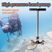 Maisi – pompe à main haute pression 4500psi, gonfleur haute pression, avec filtre à Air, légère, avec ceinture de transport