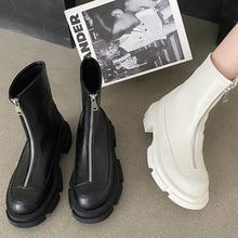 Новинка 2021 шикарные женские ботинки на платформе ботильоны