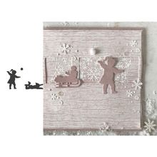 Winter Kids Metal Cutting Dies