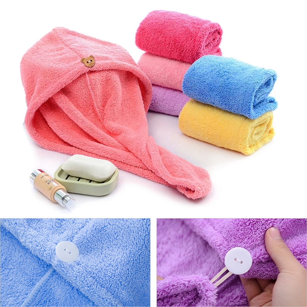 Полотенце из микрофибры, полотенце для волос, банное полотенце, махровое полотенце, цветное, быстросохнущее, мягкое, приятное для кожи, очен...
