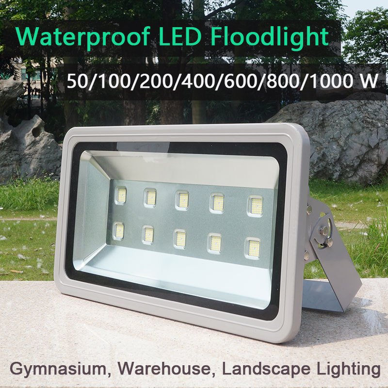 LED Floodlight 800W//1000W 200-240V IP65 Waterproof Flood Light Warm Cool White