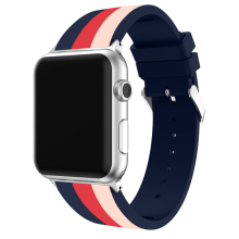 Sports band For apple watch 44mm 40mm 42mm 38mm Premium silicone Bracelet Printing wrist strap iwatch series 5 4 3 2 1