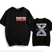 Hunter x hunter женская футболка Повседневная летняя забавная