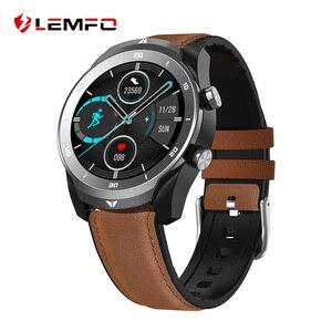 LEMFO-reloj inteligente DT79 IP67 para hombre, resistente al agua, con llamadas, Bluetooth, resolución HD de 360x360, Batería grande de 560Mah, para negocios