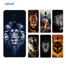 Animal Tiger Lion Wolf Luxury Soft Rubber TPU Silicone Back Case For