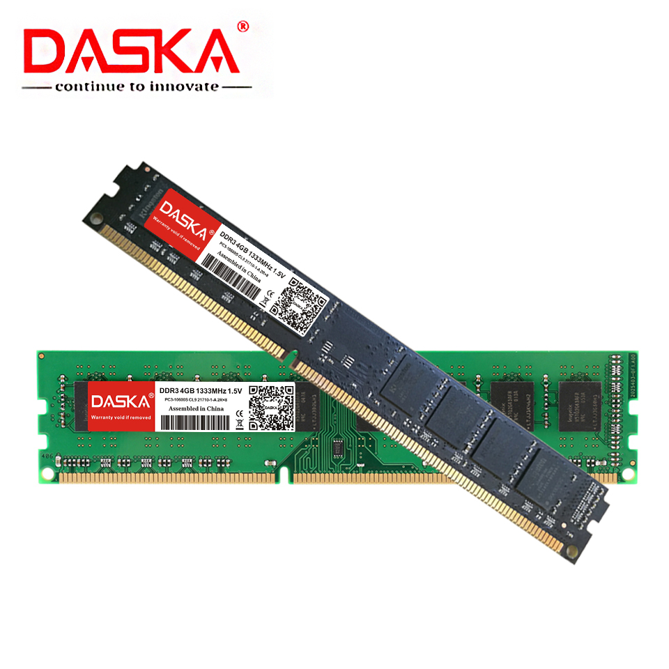 DASKA DDR3 Desktop Memory RAM with 8GB/4GB/2GB Capacity and 1600/1333MHz Speed 10