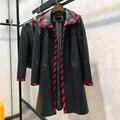Jaqueta de couro genuíno 2020 casaco longo casacos de pele de carneiro real primavera e outono turn-down collar outerwear camurça tamanho S-XL