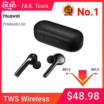 Huawei FreeBuds Lite Hi-Fi Wireless earphone 10H play time Waterproof IP54 Tap control Built-in G-Sensor - DISCOUNT ITEM  15 OFF Consumer Electronics